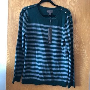 Fenn Wright Manson stripe wool sweater XL